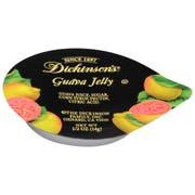 Dickinson Portion Control Guava Jelly, 1/2 Ounce -- 200 per case.