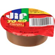 Jif To Go Creamy Peanut Butter, 1.5 Ounce -- 36 per case.