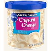 Pillsbury Cream Cheese Flavored Frosting, 16 Ounce -- 8 per case