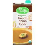 Pacific Organic French Onion Soup, 32 Fluid Ounce -- 12 per case.