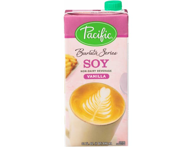 Pacific Foods Barista Series Soy - Vanilla, 32 Ounce -- 12 per case.