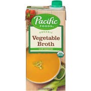 Pacific Foods Organic Low Sodium Vegetable Broth, 32 Fluid Ounce -- 12 per case.