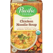 Pacific Foods Organic Chicken Noodle Soup, 17.6 Ounce -- 12 per case