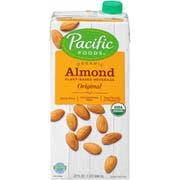 Pac Fd Low Fat Almond Natural, 32 Fluid Ounce -- 12 per case