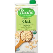 Pacific Foods Organic Naturally Original Oat Beverage, 32 Fluid Ounce -- 12 per case