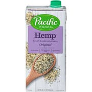 Pacific Foods Original Hemp Milk Non Dairy Beverage, 32 Fluid Ounce -- 12 per case