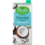 Pacific Organic Original Unsweetened Coconut Beverage, 32 Fluid Ounce -- 12 per case