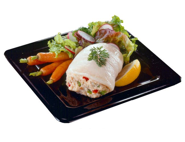 New Wave Kaptains Ketch Rolled Flounder with Crab, 4 Ounce -- 20 per case.