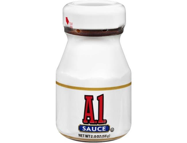 A.1. Single Serve Steak Sauce Roomservice Jar, 2 Ounce -- 60 Per Case