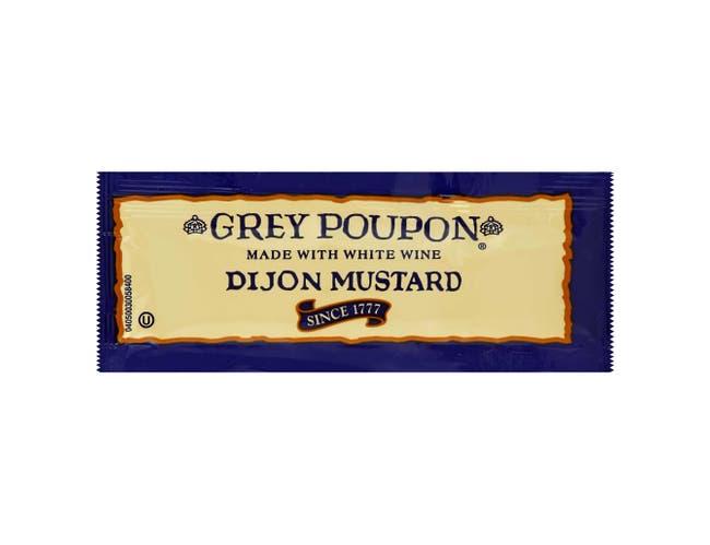 Grey Poupon Dijon Mustard Packets 200 Case .25 Ounce