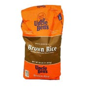 Uncle Bens Whole Grain Brown Rice, 25 Pound -- 1 each.