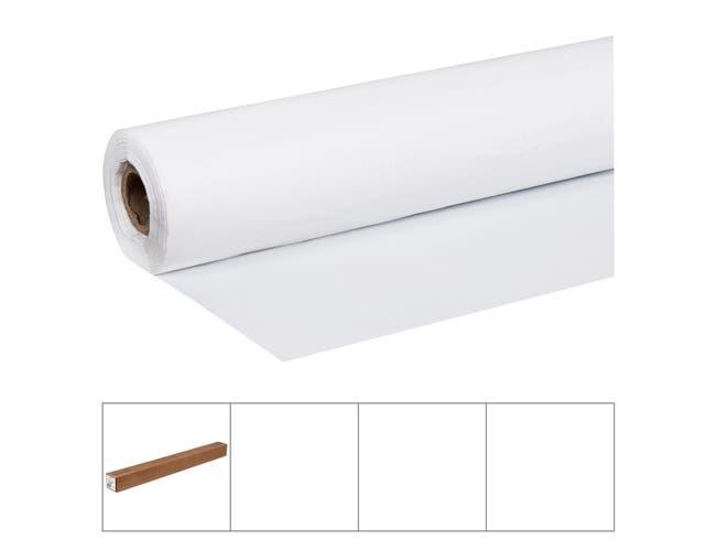 Lapaco White Poly Banquet Roll, 40 inch x 300 feet -- 1 each.