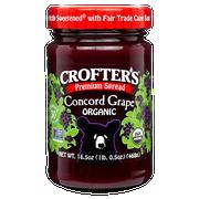 Crofters Organic Premium Concord Grape Spread, 16.5 Ounce -- 6 per case.