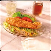King and Prince Mrs.Fridays Beer Battered Tilapia, 2.5 Pound -- 4 per case.