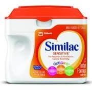 Similac Sensitive Early Shield Powder Infant Formula, 23.3 Ounce -- 6 per case.