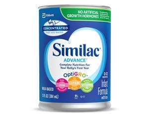 Similac Advance Early Shield Infant Formula with Iron, 13 Fluid Ounce -- 12 per case.