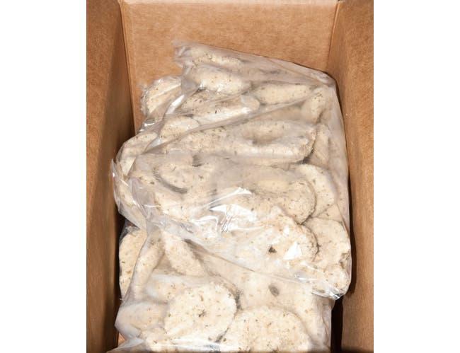 Singleton Large Breaded Calamari Rings, 10 Pound -- 1 each.