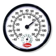 Cooper Atkins Indoor Outdoor Wall Thermometer -- 1 each.