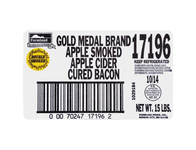 Apple Cider House Gold Medal Single Sliced Bacon, 10/14 Slice -- 1 each.