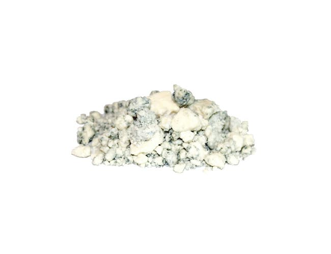 Swiss Valley Farms Mindoro Blue Cheese Crumbles, 5 Pound -- 4 per case.