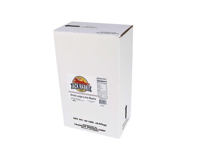 Jack Rabbit Large Lima Beans - 20 lb. package,  1 packager per case