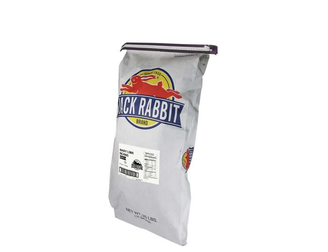 Jack Rabbit Baby Lima Beans - 25 lb. bag, 1 bag per case
