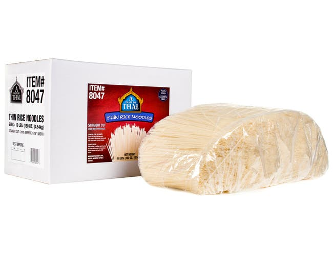 Andre Prost Thin Rice Noodles, 10 Pound -- 1 each