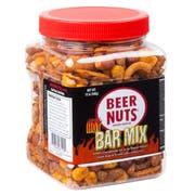 Beer Nuts Hot Bar Mix Pet Jar, 12 Ounce -- 12 per case.