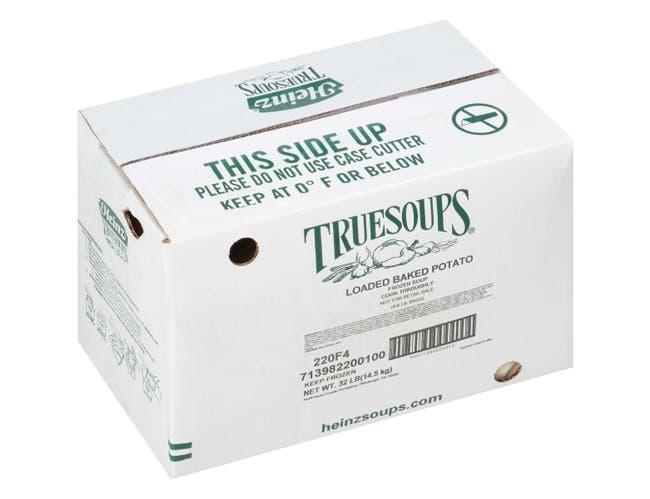 TrueSoups Loaded Baked Potato Soup - 8 lb. bag, 4 per case