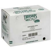 TrueSoups Vegetarian Lentil Soup - 8 lb. bag, 4 per case