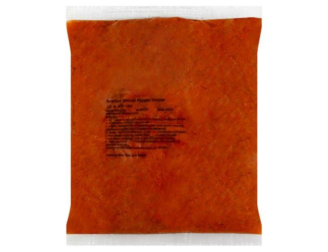 Chef Francisco Roasted Red Pepper and Tomato Bisque - 4 lb. bag, 4 per case