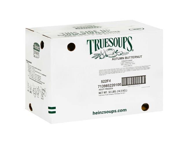 TrueSoups Autumn Squash Butternut Soup - 8 lb. bag, 4 per case