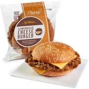 Pierre Jumbo Cheeseburger, 7 Ounce -- 12 per case.