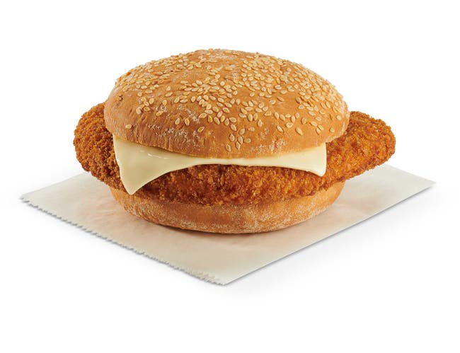 Advance Pierre Big Az Country Fried Chicken Sandwich with Cheese, 9.2 Ounce -- 8 per case.