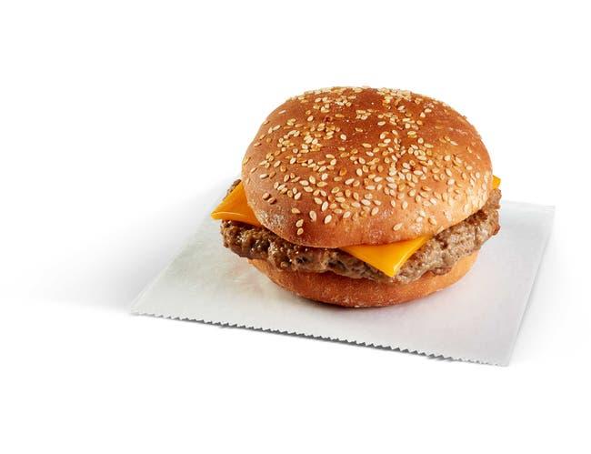 Pierre Signature Cheeseburger, 7 Ounce -- 12 per case.