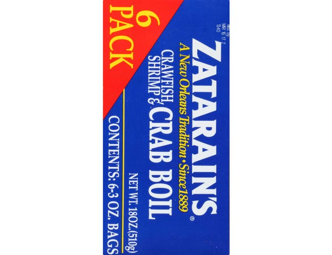 Zatarains New Orleans Style Crawfish Shrimp and Crab Boil, 3 Ounce -- 6 per case.