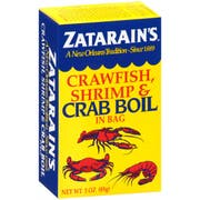 Zatarains Dry Crab Boil, 3 Ounce -- 6 per case.