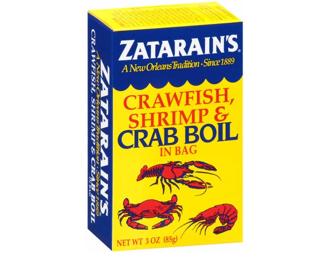 Zatarains Dry Crab Boil, 3 Ounce -- 6 per case.