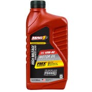 MAG 1 Synthetic Blend 10w40 High Mileage Motor Oil, 1 Quart -- 6 per case.