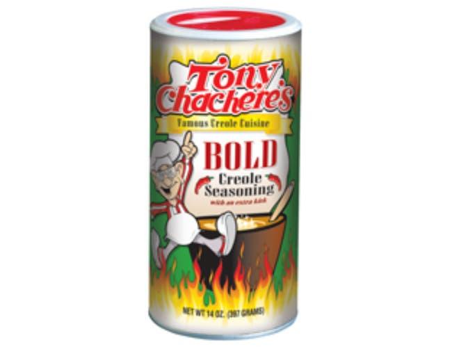 Tony Chacheres Bold Creole Seasoning, 14 Ounce -- 6 per case.