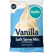 Precision Food Frostline Mix, Non Dairy, Vanilla Soft Serve, 6 Pound -- 6 per case.