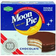 Moon Pie Chocolate Marshmallow Sandwich, 8 count per pack -- 32 per case.