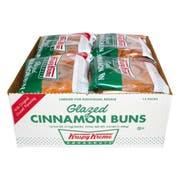 Krispy Kreme Glazed Cinnamon Bun, 4 Ounce -- 12 per case.