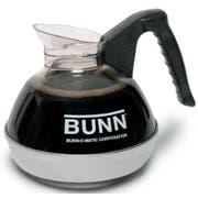 Bunn Easy Pour Black Coffee Decanter, 64 Ounce -- 3 per case