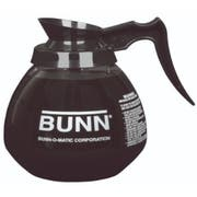 Bunn Glass 12 Cup Coffee Decanter with Black Handle, 64 Ounce -- 3 per case