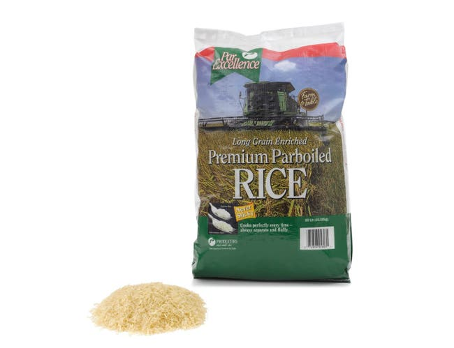 Producers Rice Parexcellence Parboiled Rice Bag, 50 Pound -- 1 each.