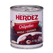 Herdez Chipotle Whole Peppers, 7 Ounce -- 12 per case.
