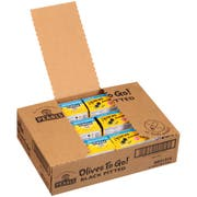 Pearls Black Pitted Olives, 4.8 Ounce Cup -- 6 per case.