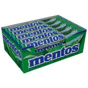 Mentos Spearmint Candy Roll, 1.32 Ounce -- 210 per case.