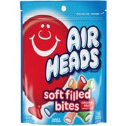 Airheads Soft Filled Bites, 9 Ounce Doy Bag -- 12 per case.